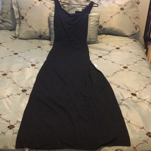 NWT black evening gown